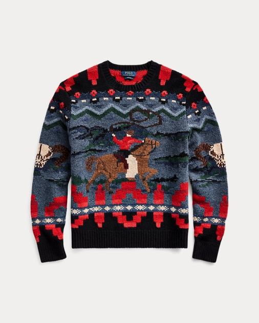Cowboy Hand Knit Sweater