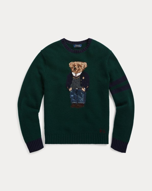 Preppy Polo Bear Sweater