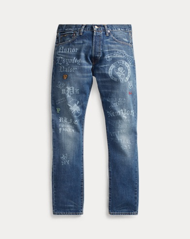 Sullivan Slim Graphic Jean