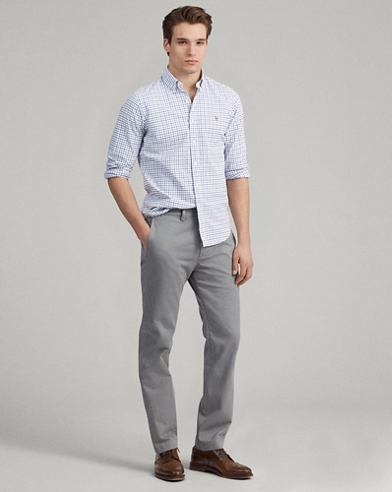 Classic Fit Cotton Chino Pant