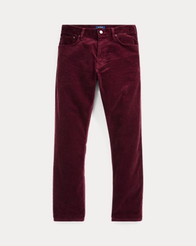 Slim Straight Corduroy Pant