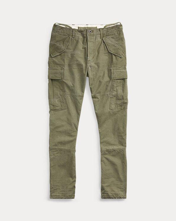 Pantalon cargo classique fuselé