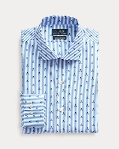 Camisa a rayas con calavera