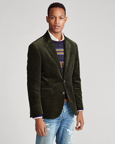 Polo Corduroy Suit Jacket