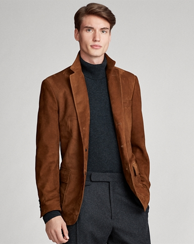 Polo Suede Sport Coat