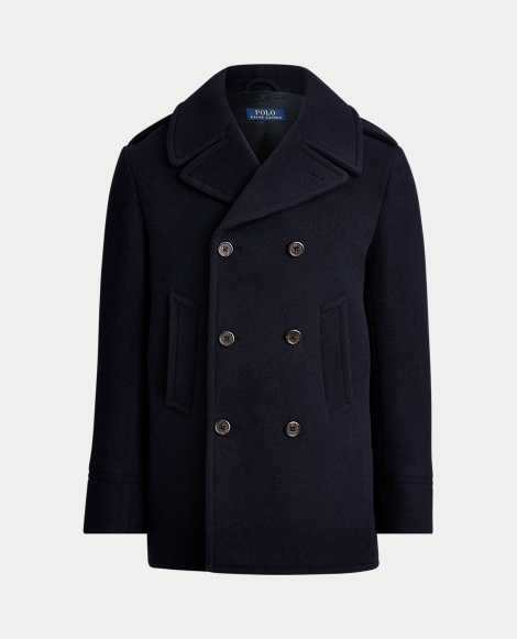 Polo Wool-Blend Peacoat