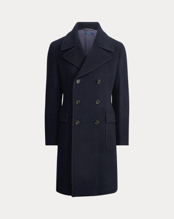 Wool-Blend Car Coat