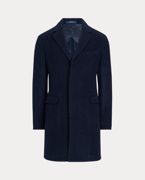 Polo Soft Wool-Blend Topcoat