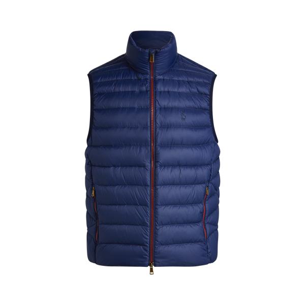폴로 랄프로렌 Polo Ralph Lauren Packable Down Vest,Cruise Navy