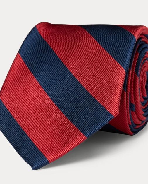 Silk Narrow Striped Repp Striped Tie Silk Wbe2IEH9YD