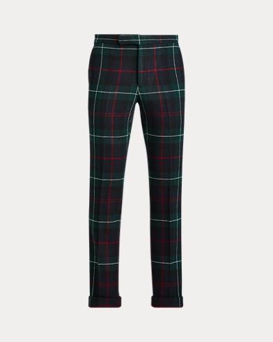 Polo Tartan Wool Trouser