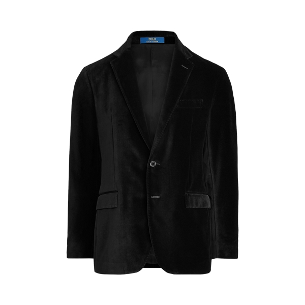폴로 랄프로렌 Polo Ralph Lauren Polo Soft Velvet Dinner Jacket,Black