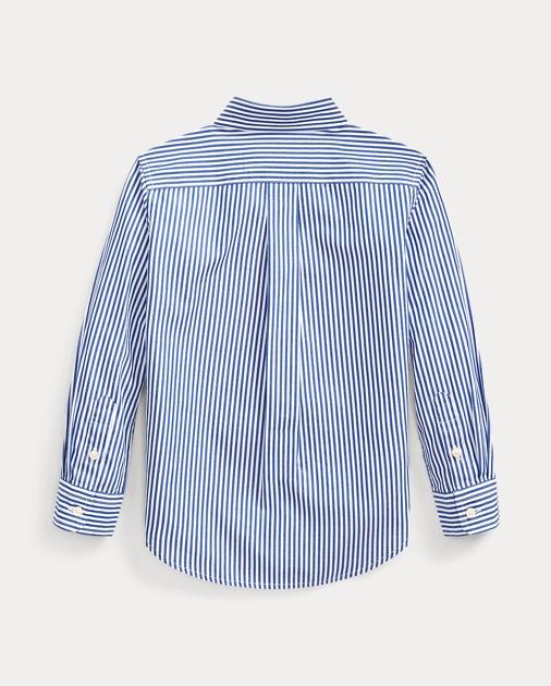 Boys 2-7 Striped Stretch Cotton Shirt 2