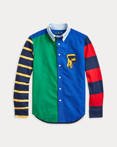 Cotton Rugby Oxford Shirt