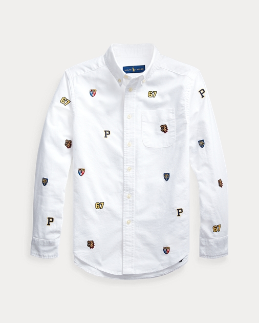 Cotton Shirt Shirt Embroidered Embroidered Cotton Embroidered BoedCx