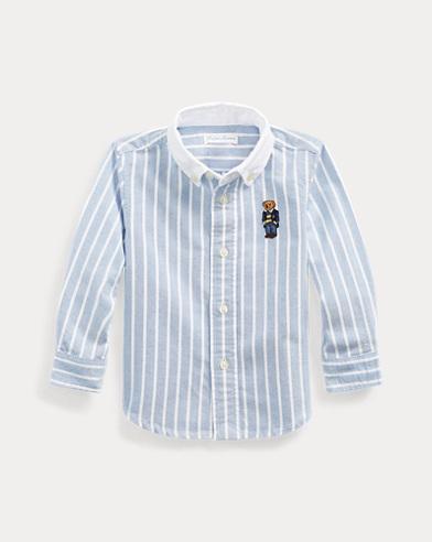 Polo Bear Striped Oxford Shirt