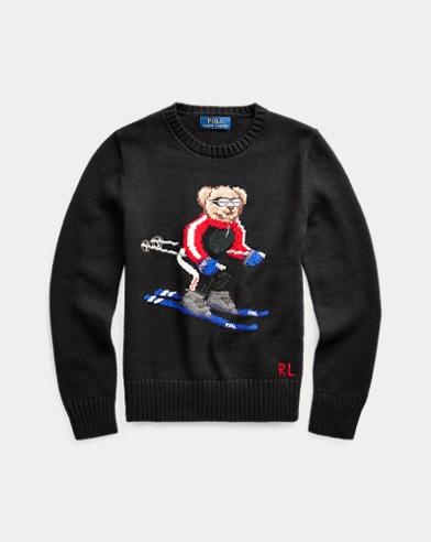 Pull Ski Bear