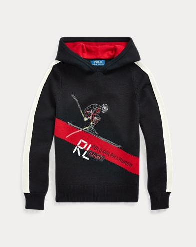 Skier Merino Hooded Jumper