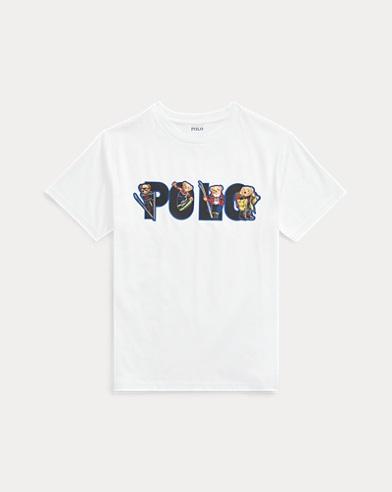 T-shirtSki Bearjersey coton