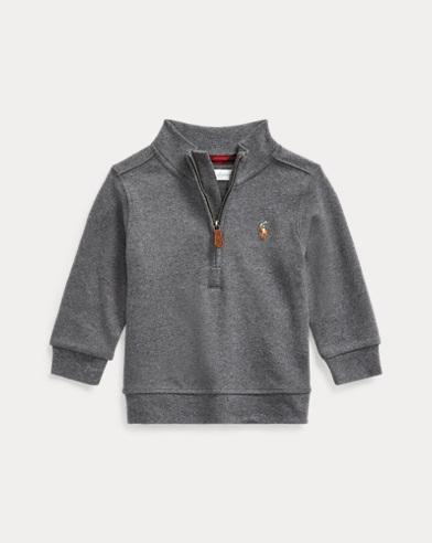 Pullover aus Baumwoll-Interlock