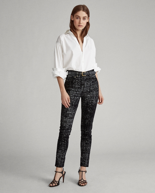 Tompkins High Rise Skinny Jean by Ralph Lauren