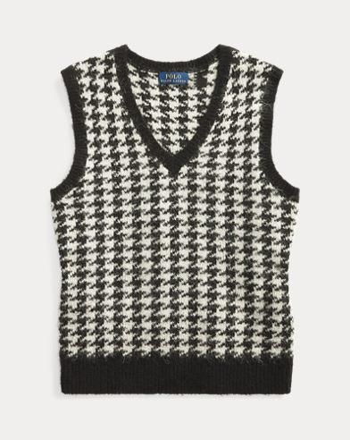 Wool-Blend Sweater Vest
