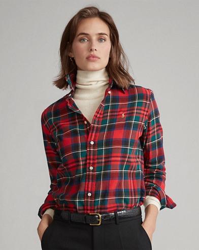 Camicia scozzese Classic-Fit