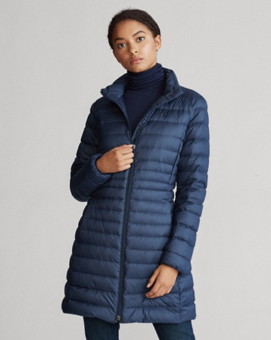 Packable Long Down Coat