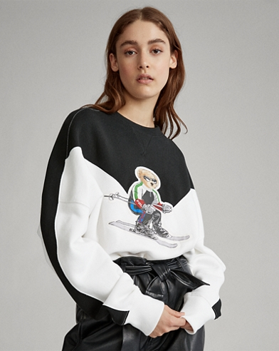 Polo Bear Fleece Crewneck