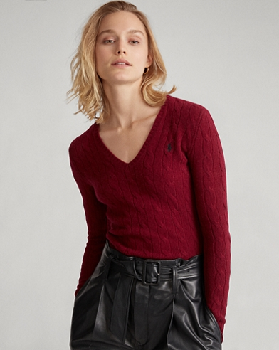 Cable Wool-Cashmere Jumper
