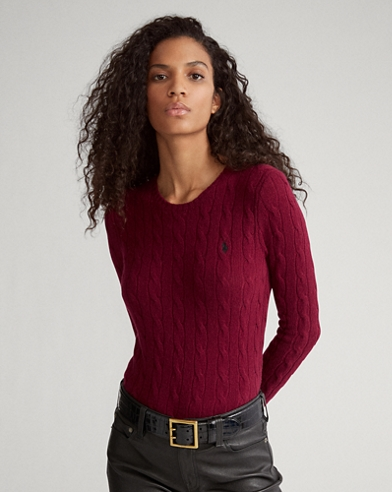Cable Wool Crewneck Jumper