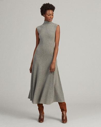 Cashmere Mockneck Dress