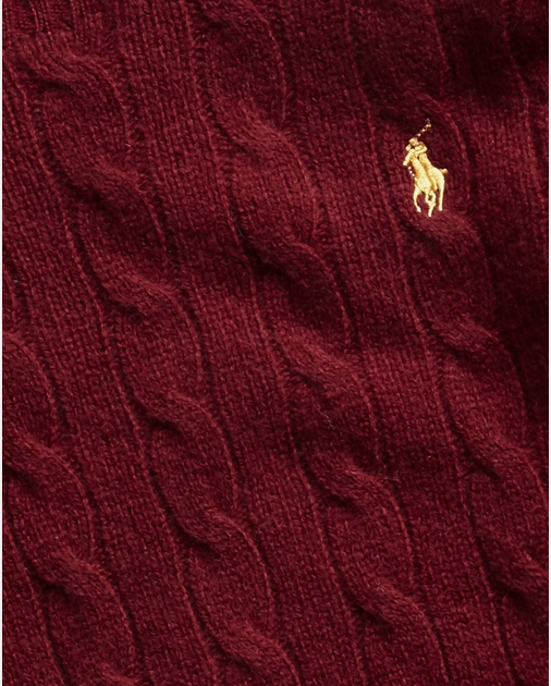 Polo Ralph Lauren Cable-Knit Wool-Blend Sweater 5