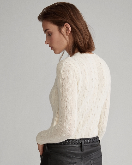 Polo Ralph Lauren Cable-Knit Wool-Blend Sweater 4