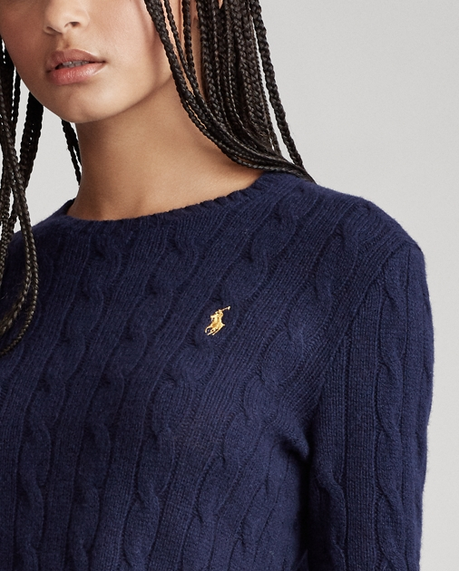 Polo Ralph Lauren Cable-Knit Wool-Blend Sweater 6