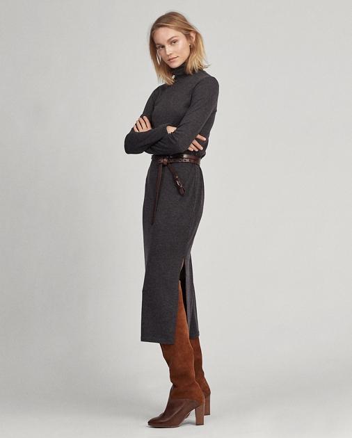 Polo Ralph Lauren Jersey Turtleneck Dress 1