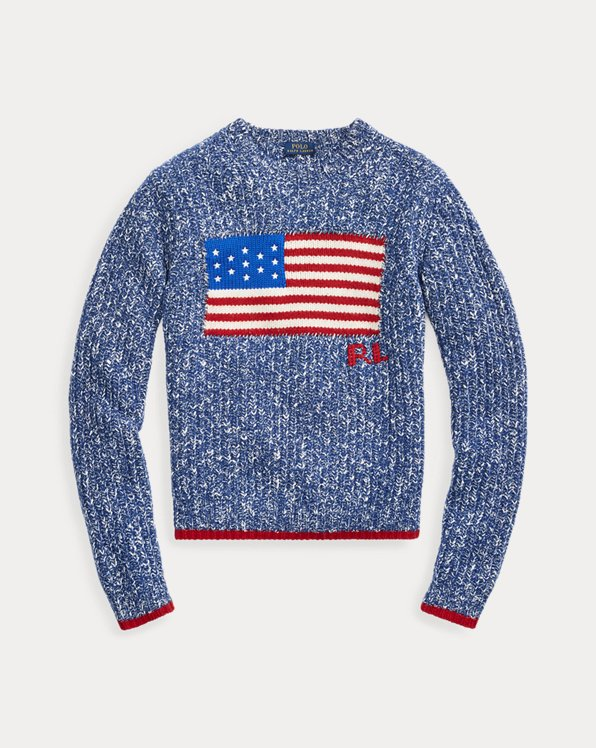 Flag Wool-Blend Jumper