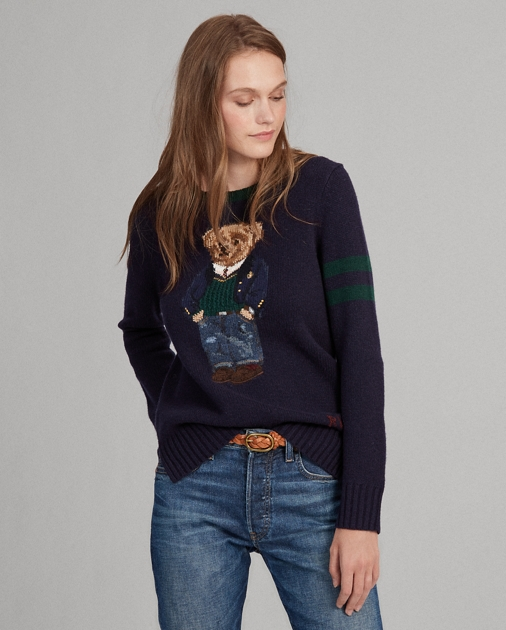 Polo RalphLauren Polo Bear Wool-Blend Sweater