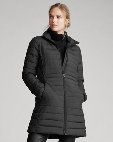 Packable Long Down Coat