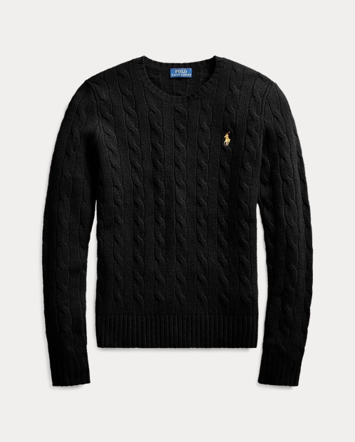 Polo Ralph Lauren Cable-Knit Wool-Blend Sweater 2