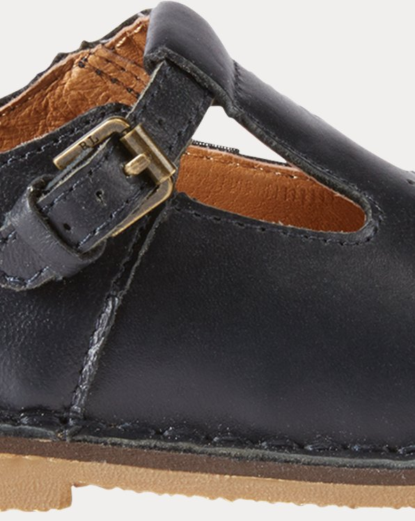 Leather T-Strap Shoe
