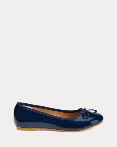 Nellie Vegan Leather Flat