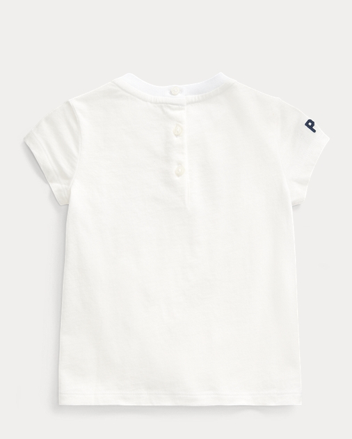 Baby Girl Camiseta de punto jersey con bandera 2