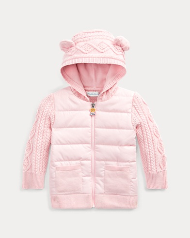 Bear-Hood Full-Zip Jumper
