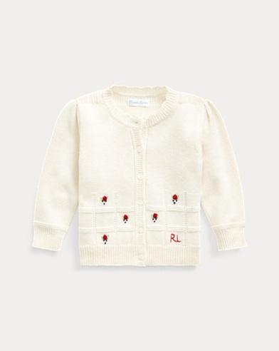 Wool-Cotton Cardigan