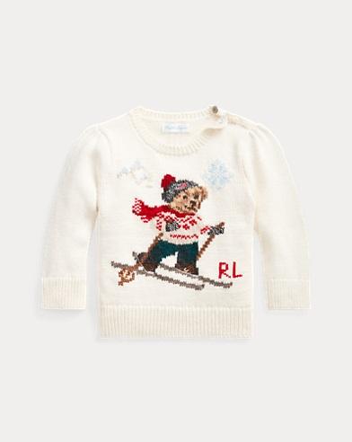 Ski Bear Crewneck Sweater