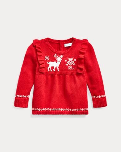 Reindeer Wool-Blend Jumper