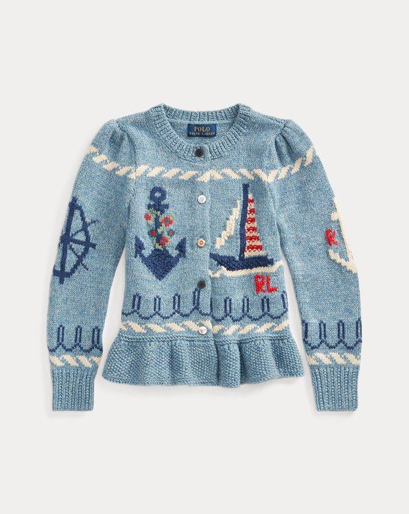 Nautical Cotton Cardigan