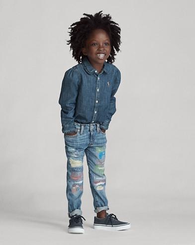 Jeans boyfriend Astor Slim-Fit