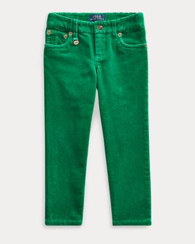 Pantalón de pana elástico pitillo
